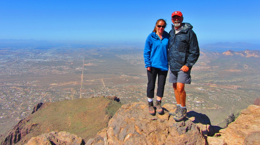 On flatiron and superstition peak for Warm destinations in march