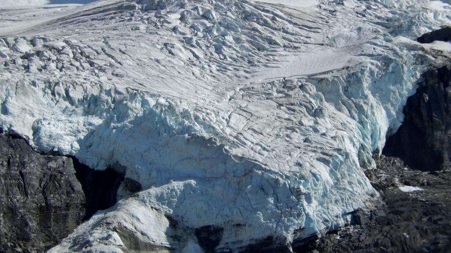 On Top Ca Athabasca Glacier
